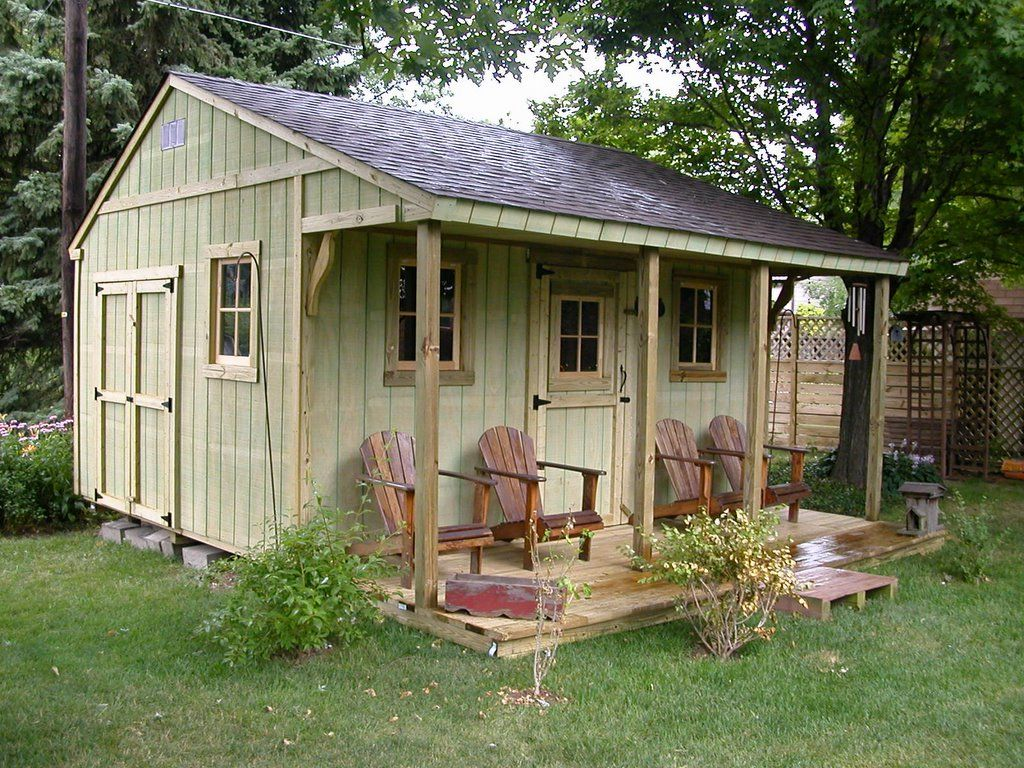 Rustic Garden Sheds. Find This Pin And More On Home By Debimather. Storage  Sheds Made Into Homes