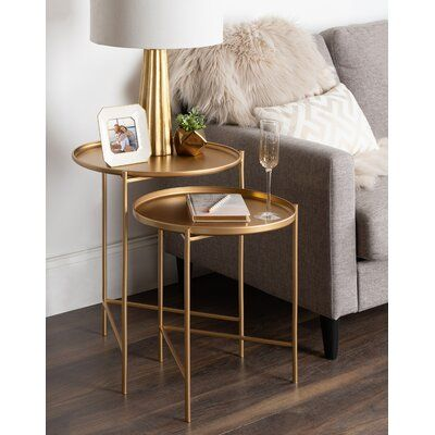 Howell 2 Piece Nesting Tables | AllModern