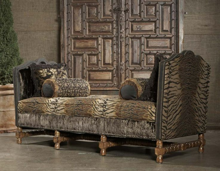 Captivating Paul Robert CROWLEIGH Chaise Daybed | Animal Print/ Hide Furniture |  Pinterest | Birthdays .