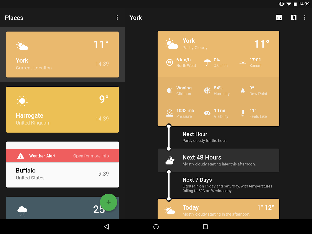 10 Cool Android Weather Apps With Hot Material Design