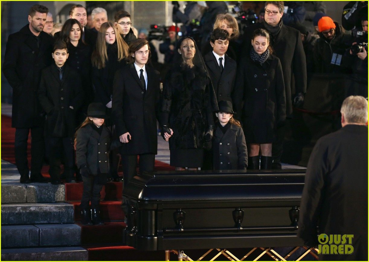 Celine Dion Releases Statement After Rene Angelil's Funeral | celine dion releases statement after rene angelils funeral 05 - Photo