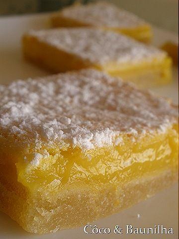 Quadrados Duo de Limão