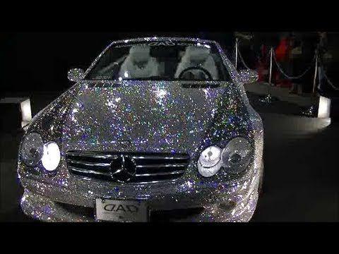 World Exclusive Swarovski Crystal Car Wrap!   YouTube