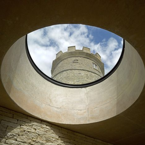 The Round Tower by De Matos Ryan