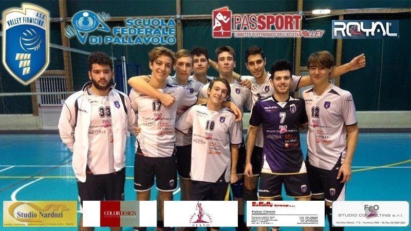 U19: Anzio Pallavolo - Volley Fiumicino