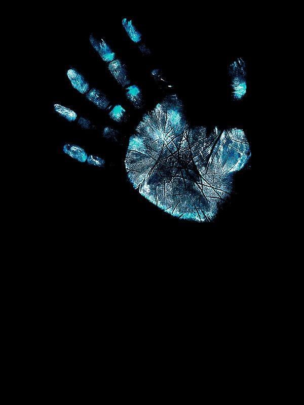 Fringe Hand Photographic Print By Bubblemunki Macbook Air