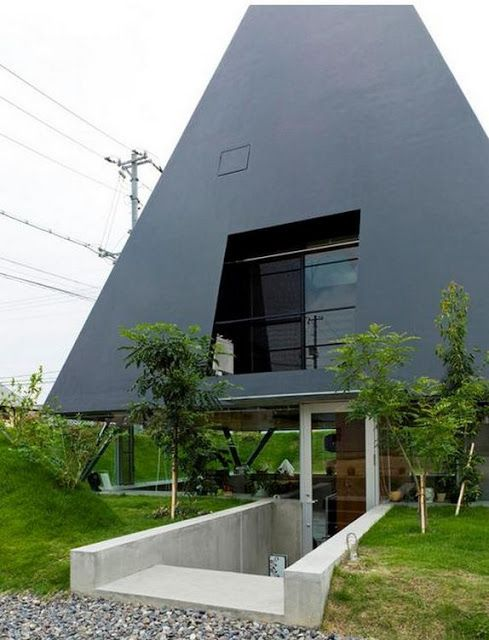 Wonderful Saijo House In Hiroshima, Japan By Suppose Design Office. Lead Architect:  Makoto Tanijiri (via Yatzer)