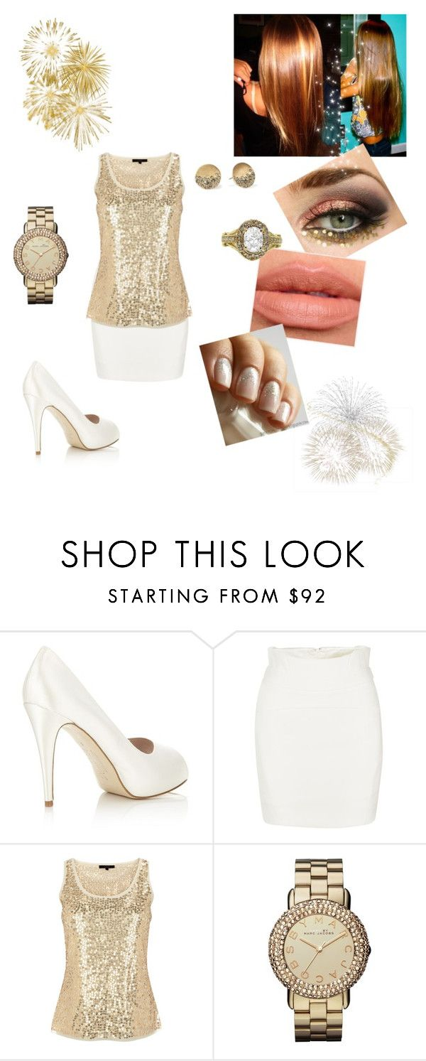 """""""Reveillon *-*"""" by nathaliafraga ❤ liked on Polyvore featuring HARRIET WILDE, Coast, Mikasa, Marc by Marc Jacobs and Kenneth Cole"""