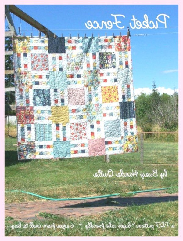 Picket Fence Quilt Pattern PDF in 6 Sizes from Wall Hanging to KingLayer Cake FriendlyPatterns by