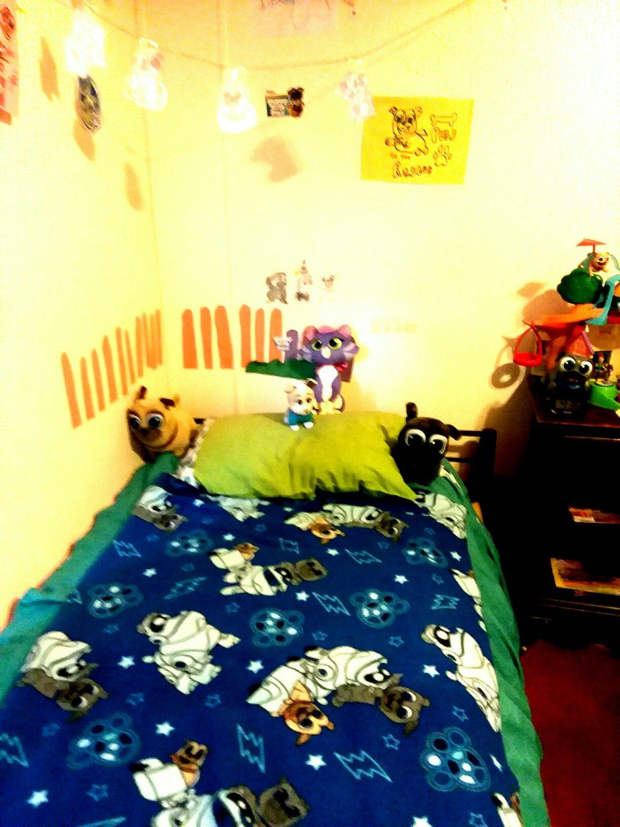 Disney Puppy Dog Pals Custom Bedding Decorations Banners