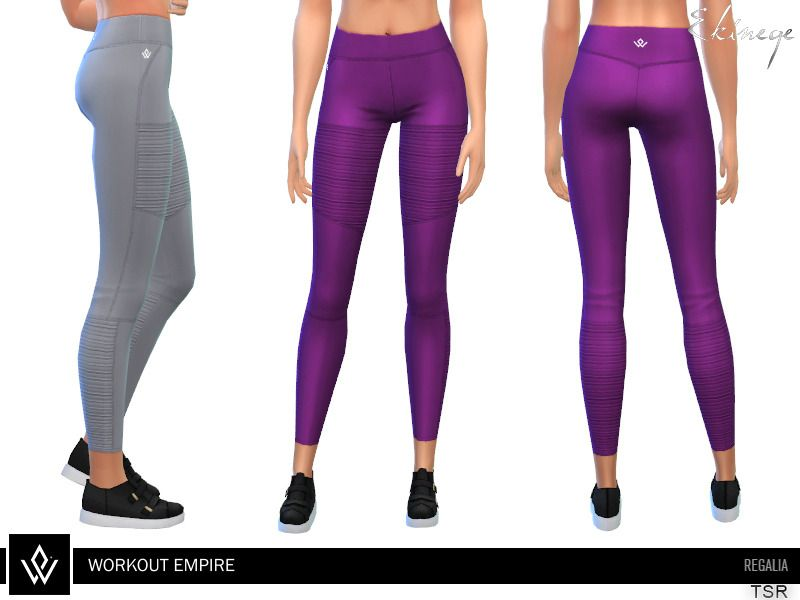 d5cdaf7e8e Lana CC Finds - Workout Empire - Regalia - Tights - 2 | Sims | Sims ...