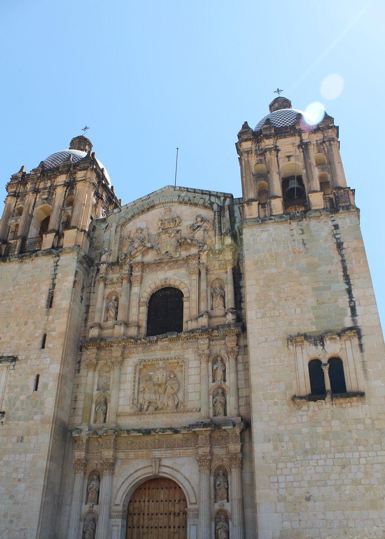 Templo Santo Domingo en Oaxaca, Mexico.