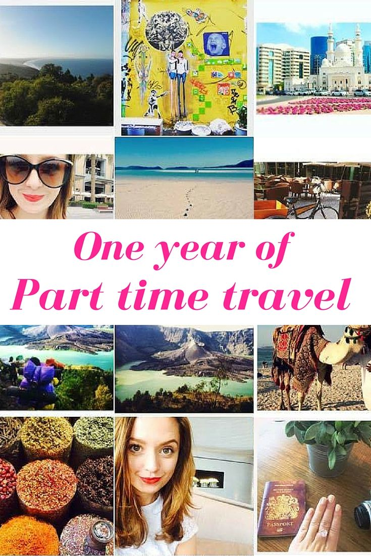 Looking back on a year of balancing a full time job with part time travel in my twenties. The millennial struggle, right?