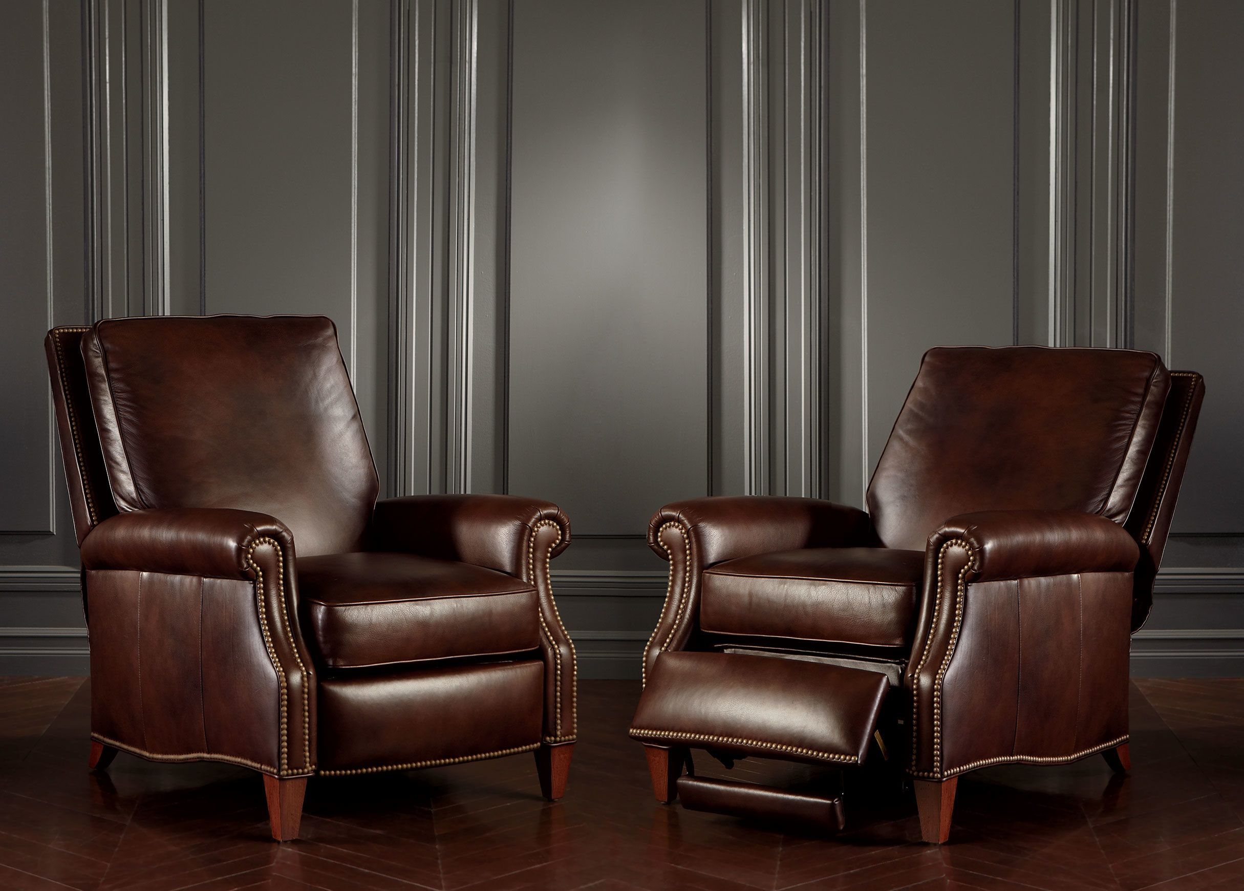Awesome Ethan Allen Colburn Leather Recliner Omni Brown Comes In Short Links Chair Design For Home Short Linksinfo