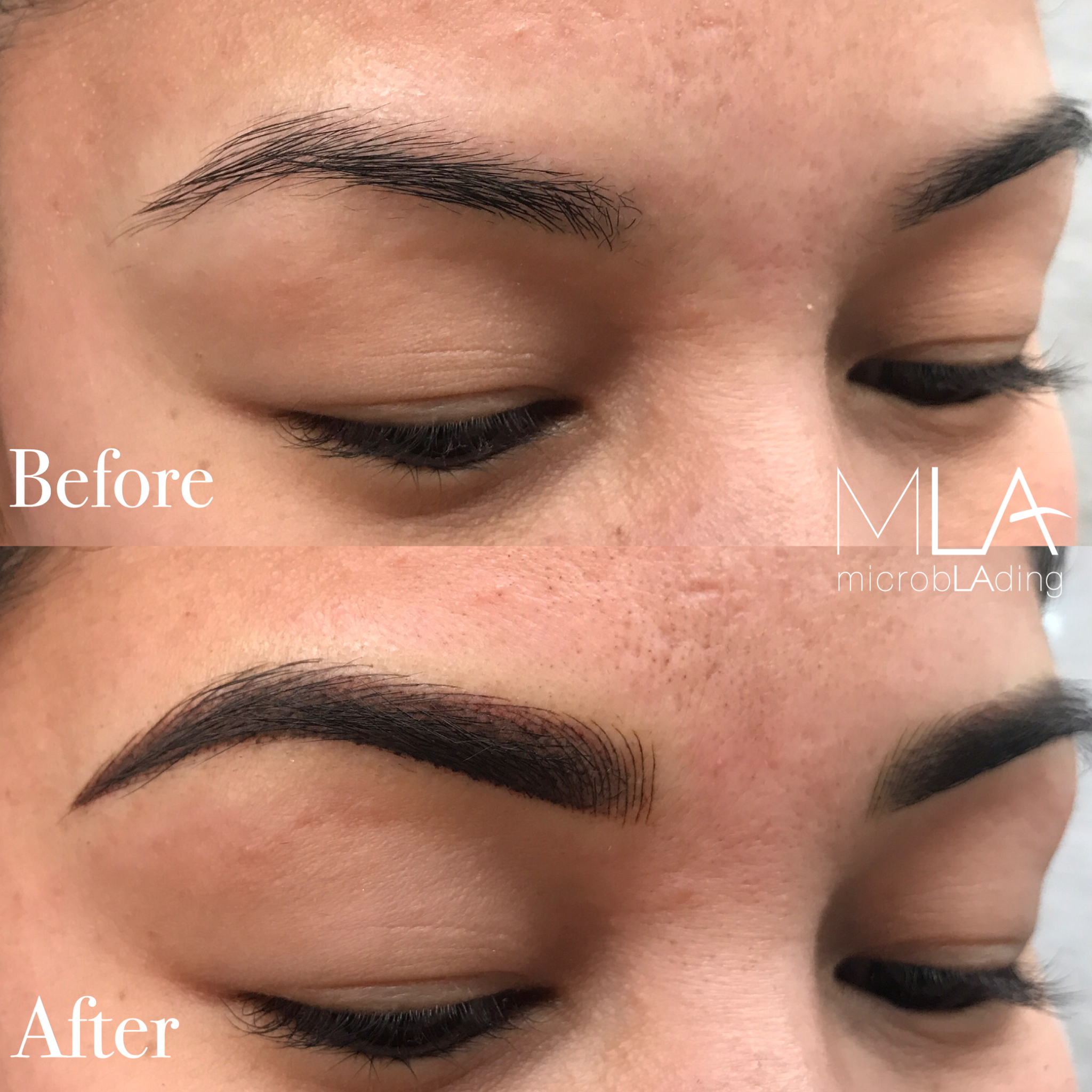 Look at these COMBO brows ready for ANYTHING!!😍 Brows by