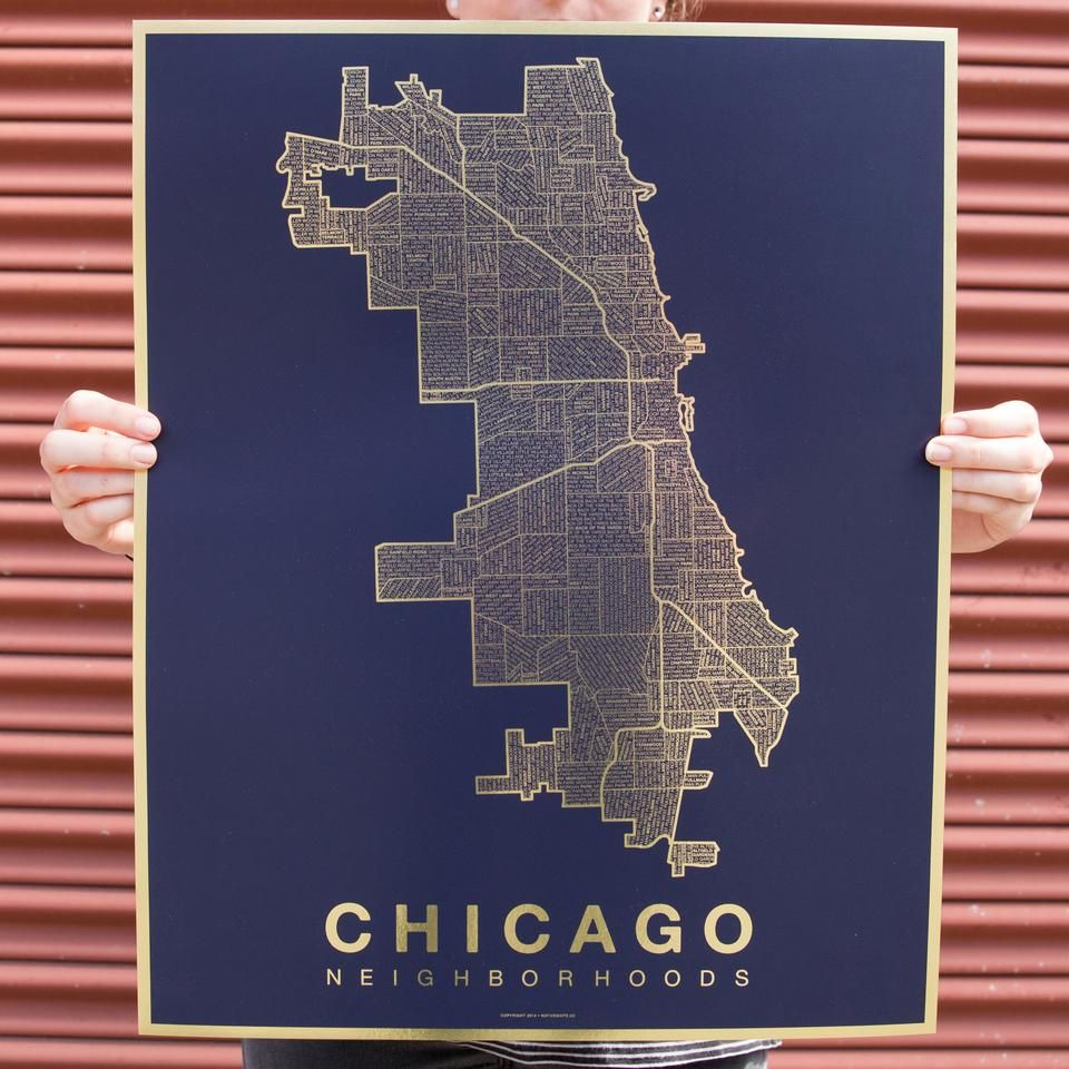 Screen Print by Mama's Sauce for Native Maps. (With images