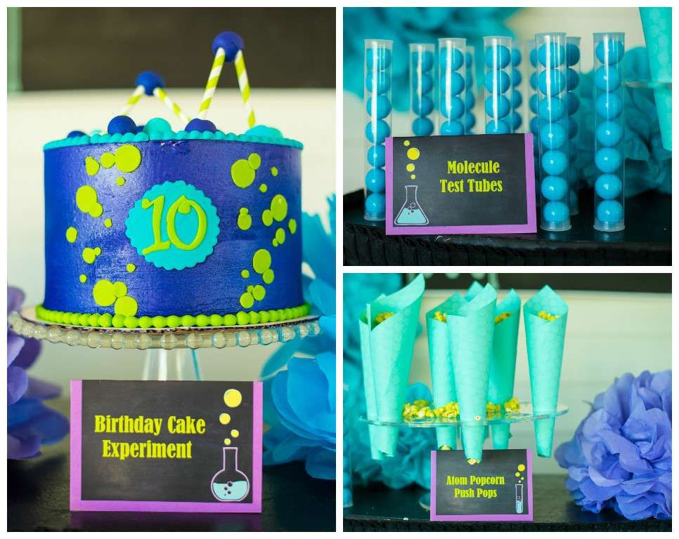 Excellent Party Food At A Spa Science Birthday See More Ideas CatchMyParty