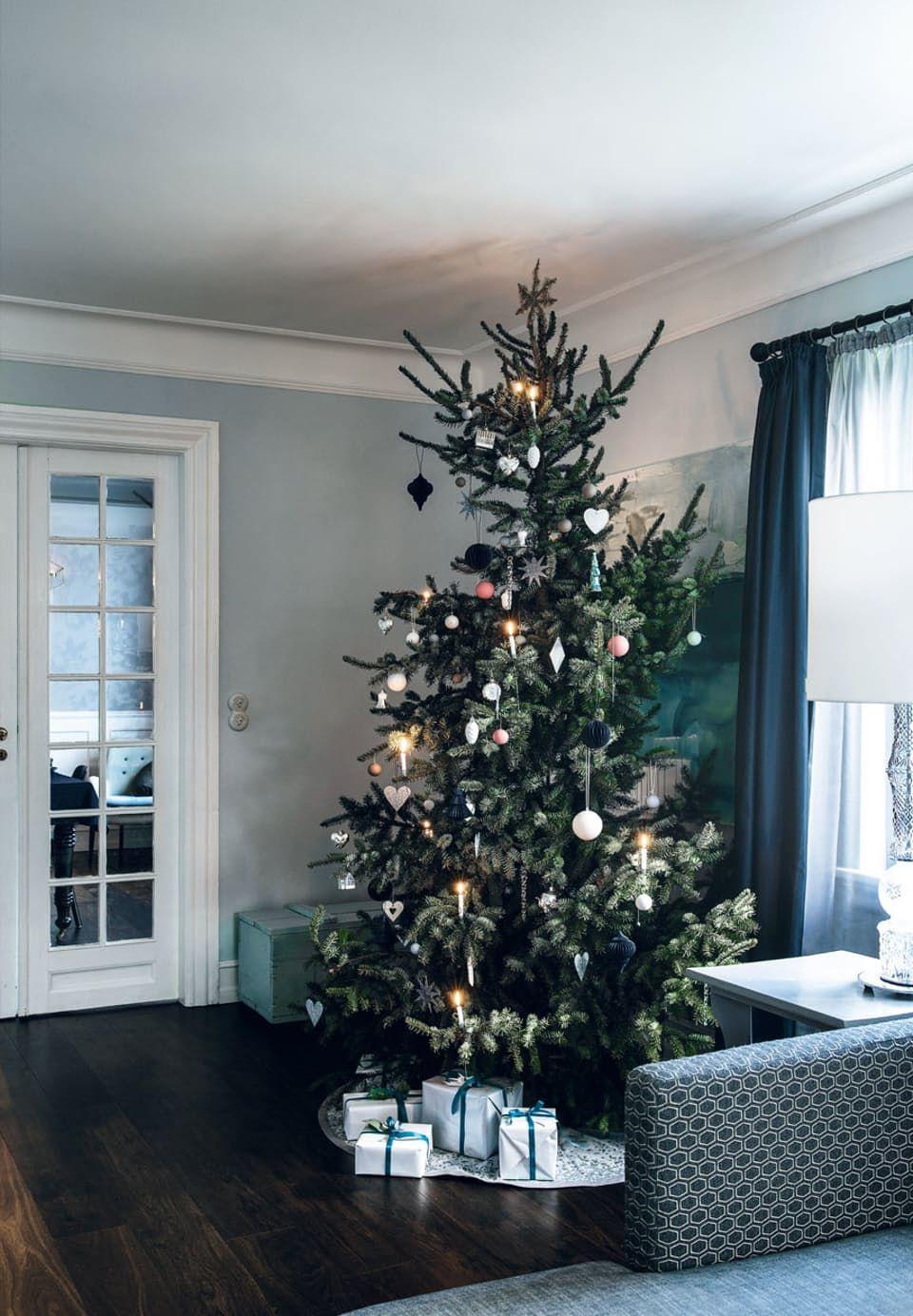 Juletræ med personlighed og charme
