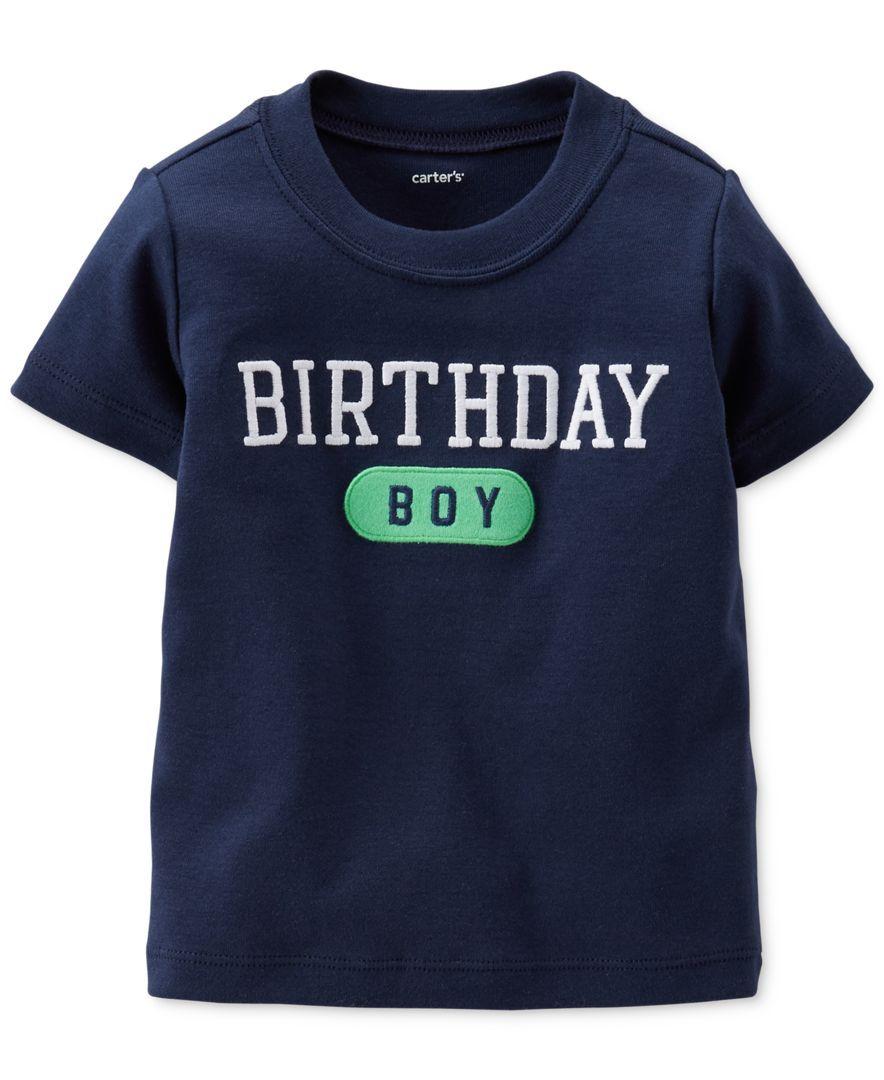Carters Baby Boys Birthday Tee