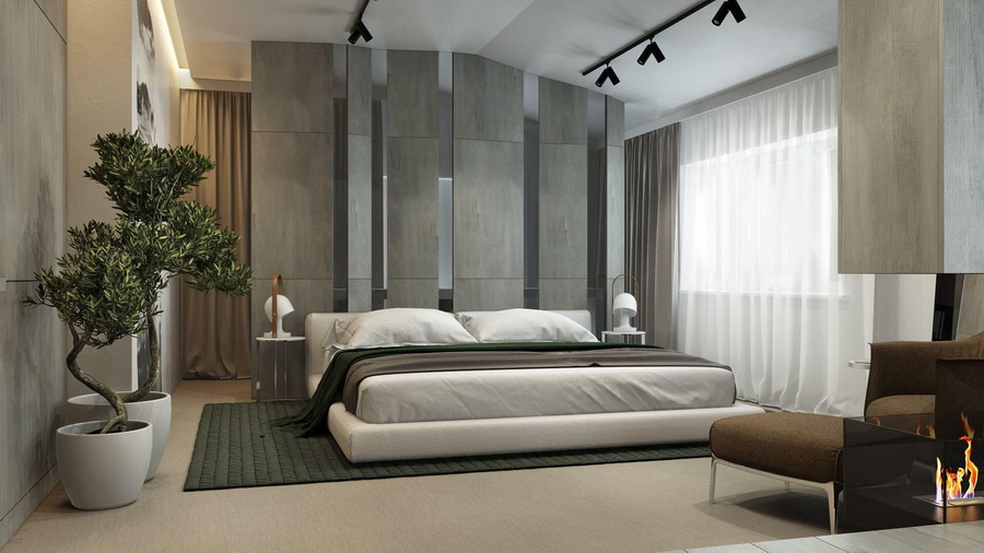 Comfortable and Aesthetic Bedroom with 5 Minimalist Bed
