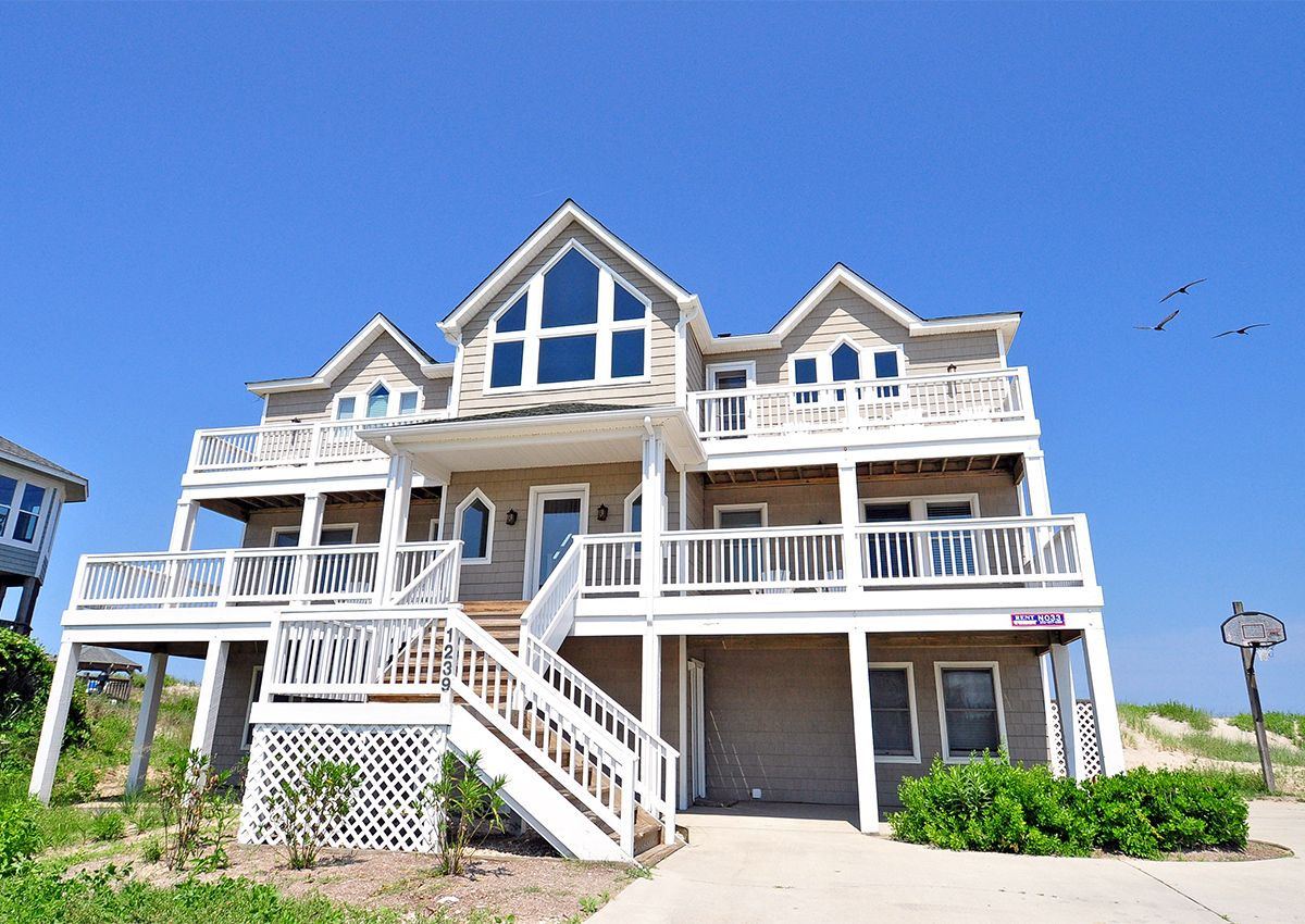 oceanfront beach rentals outer banks nc