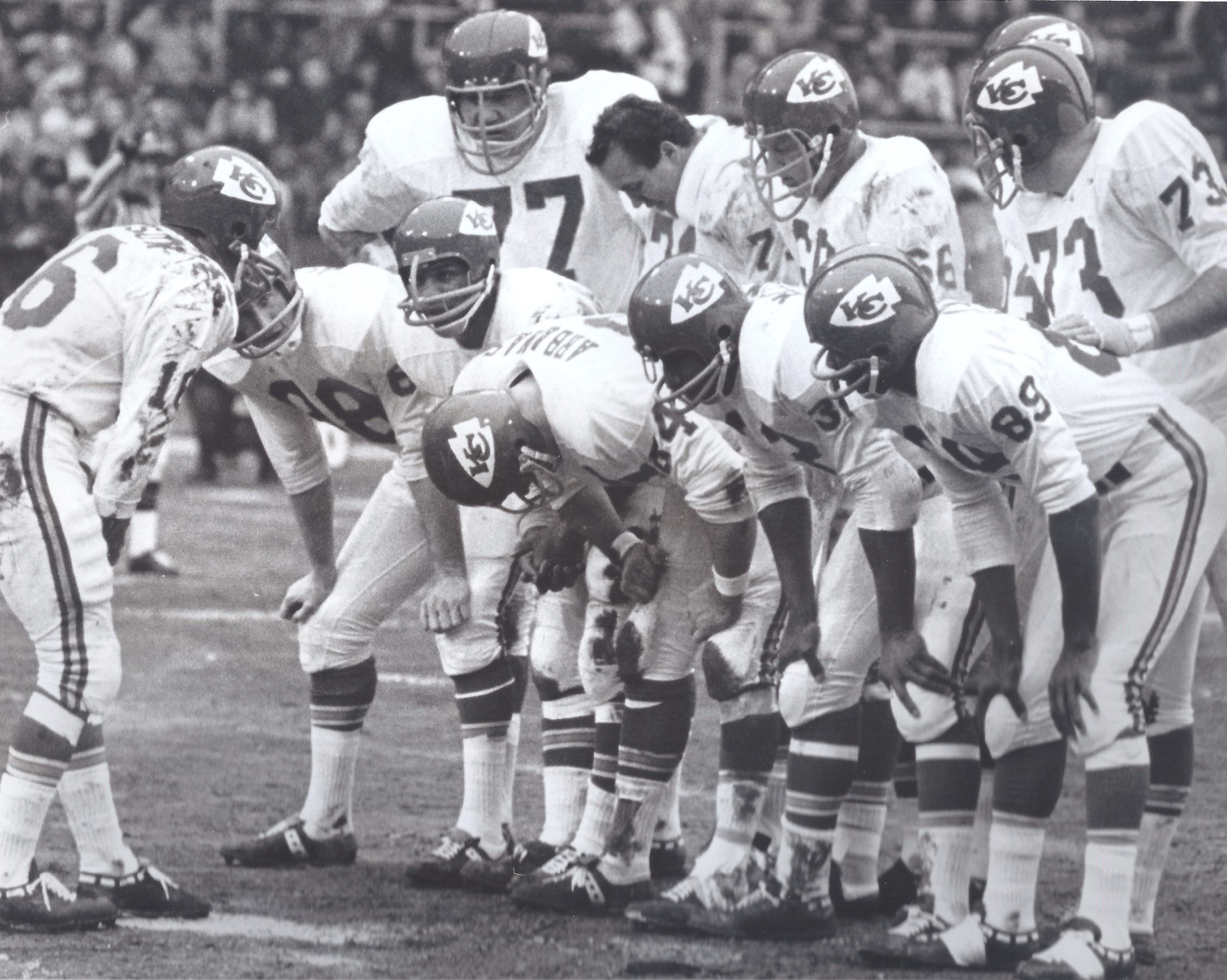 Chiefs at Bills, 1966 AFL Championship game. The Chiefs ...
