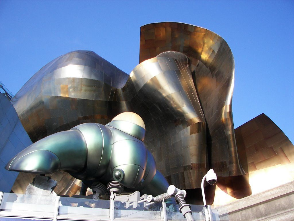 gehry design facebook seattle. EMP Is Housed In A Unique Square Foot Frank O. Gehry Designed Building Beside The Seattle Center. It Contemporary Museum For Music And Pop Culture. Design Facebook