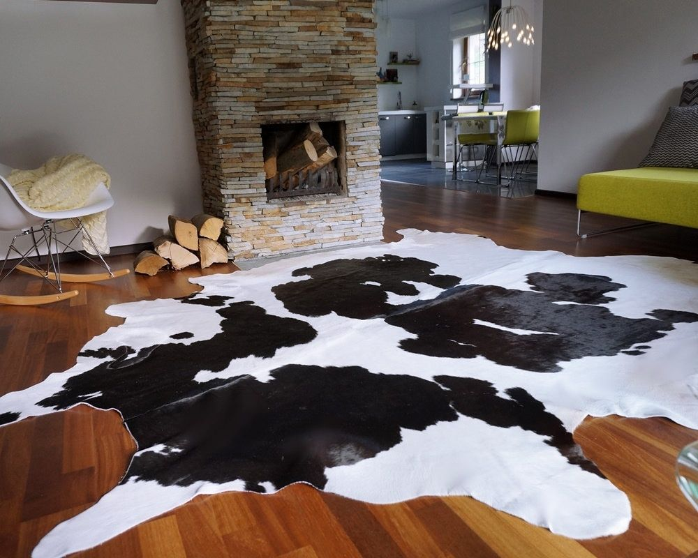Black And White Brazilian Cowhide Rug Xxl With Images White Cow Rug Cowhide Rug Living Room White Cowhide Rug