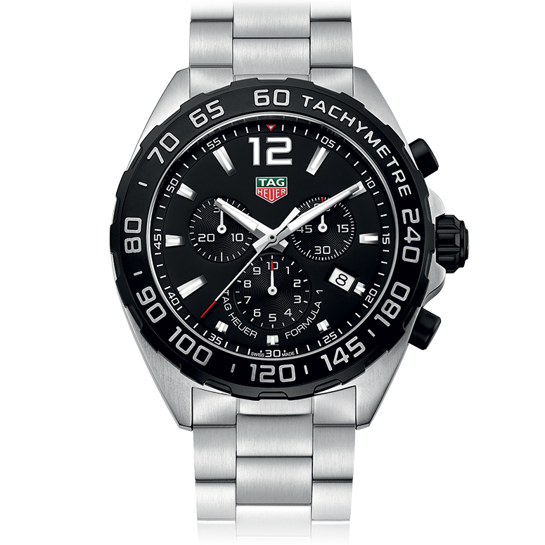 tag heuer tag heuer formula 1 chronograph 43mm buy or order now by calling 813 875 3935 ask for