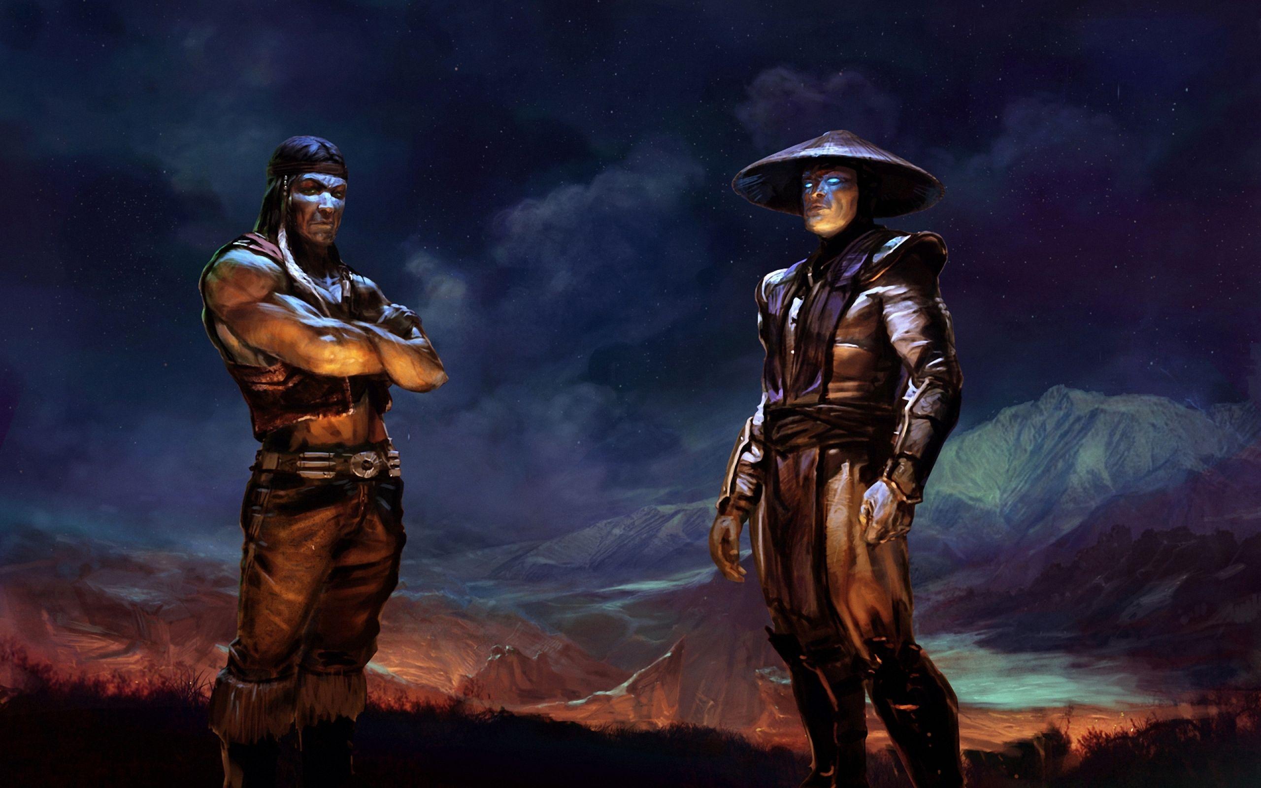 Download Wallpaper 2560x1600 Raiden, Mortal kombat