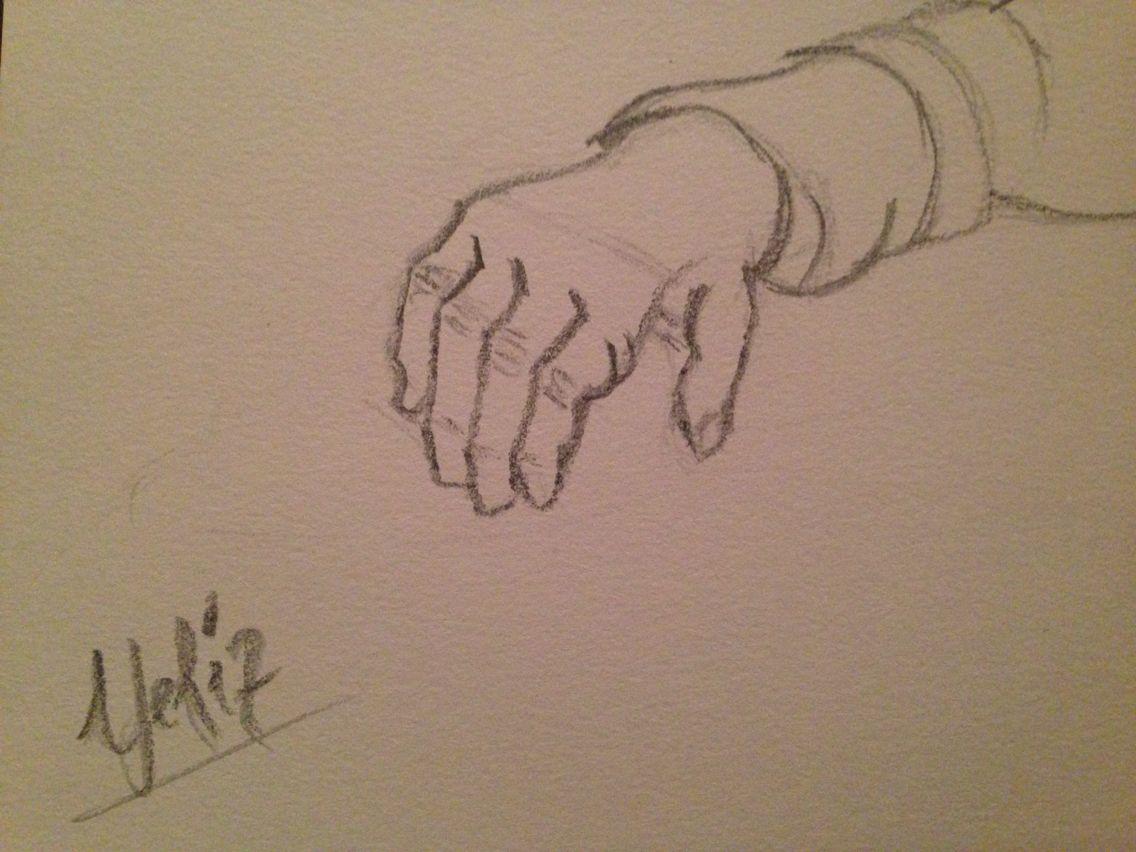Karakalem El çizimi Yart Sketches Ve Art