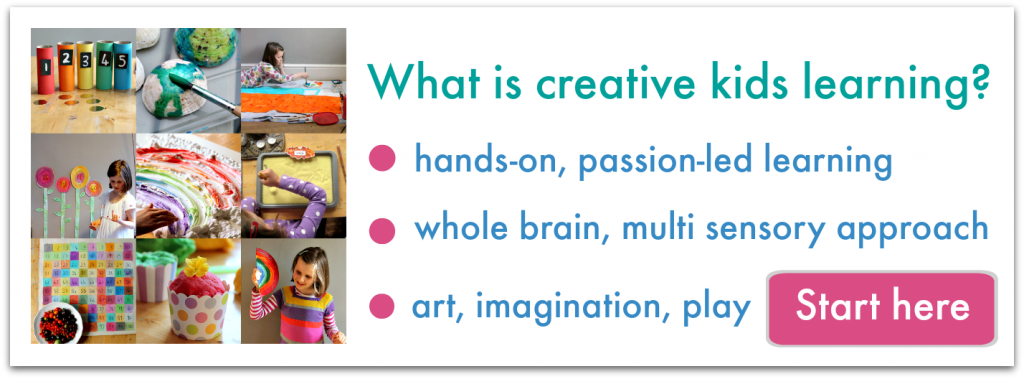 Amazing website full of ideas to inspire learning, the arts, nature, and more!