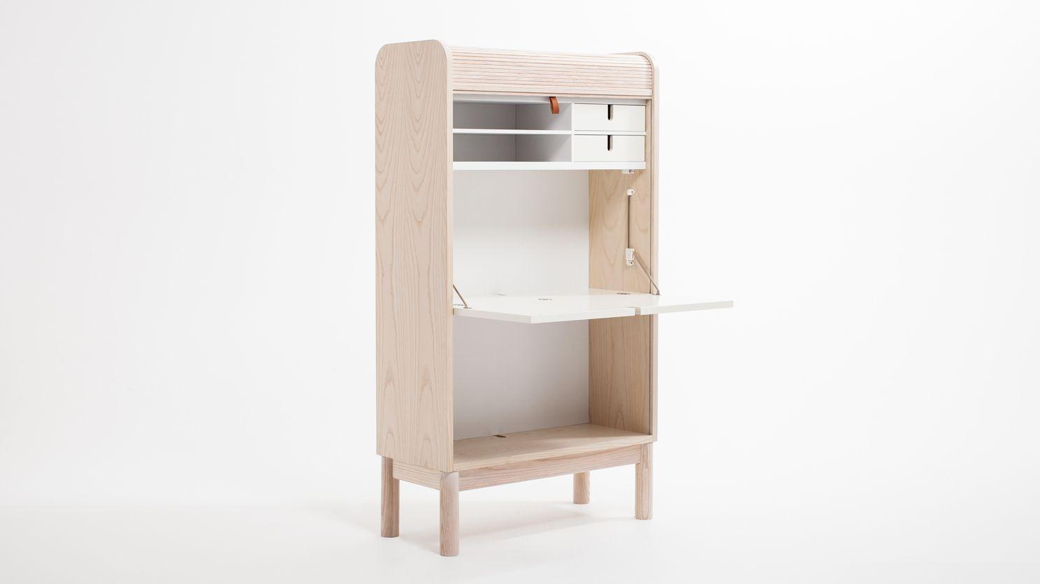Tambour desk corner déco u mobilier pinterest desks