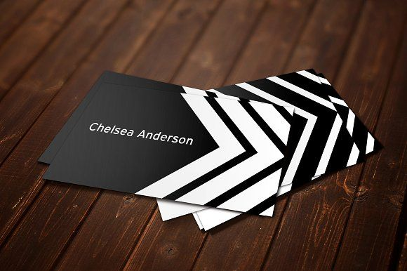 Chelsea Business Card Template by Pip Sweet on @creativemarket - pip template