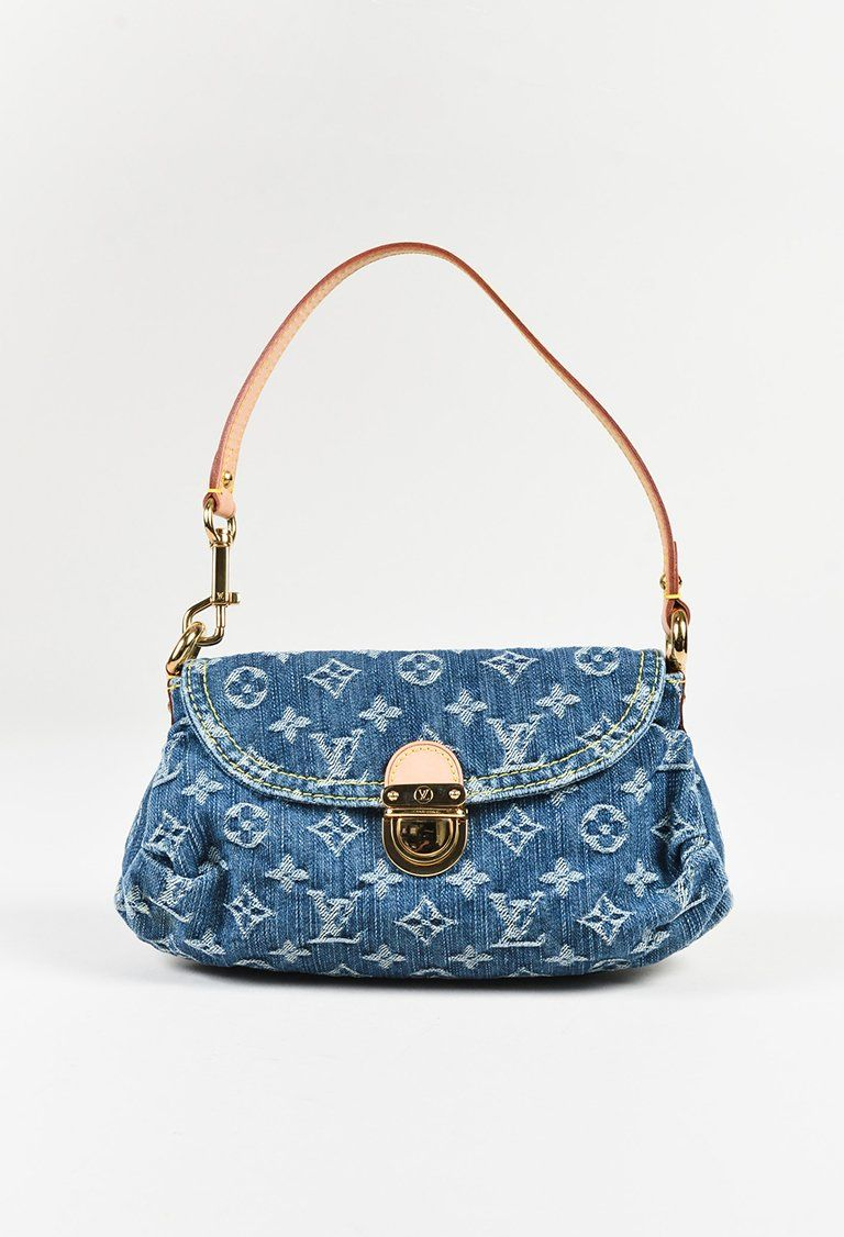 Louis Vuitton Blue Monogram Denim