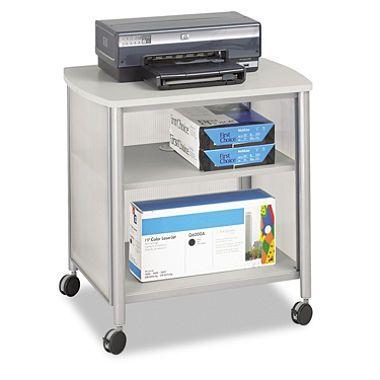 "Safco - Impromptu Machine Stand, 1-Shelf, 26-1/4""W x 21""D x 26-1/2""H - Gray $149.98"