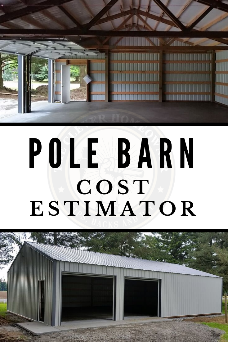 Total Cost To Build A Pole Barn Cost Estimator Free Quote How Much Building A Pole Barn Pole Barn Cost Pole Barn House Plans