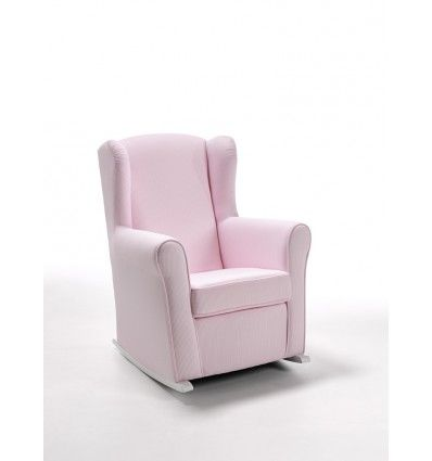 Sill n mecedora lactancia miscel nea hab dulce rosa n rdico pinterest - Sillones habitacion bebe ...