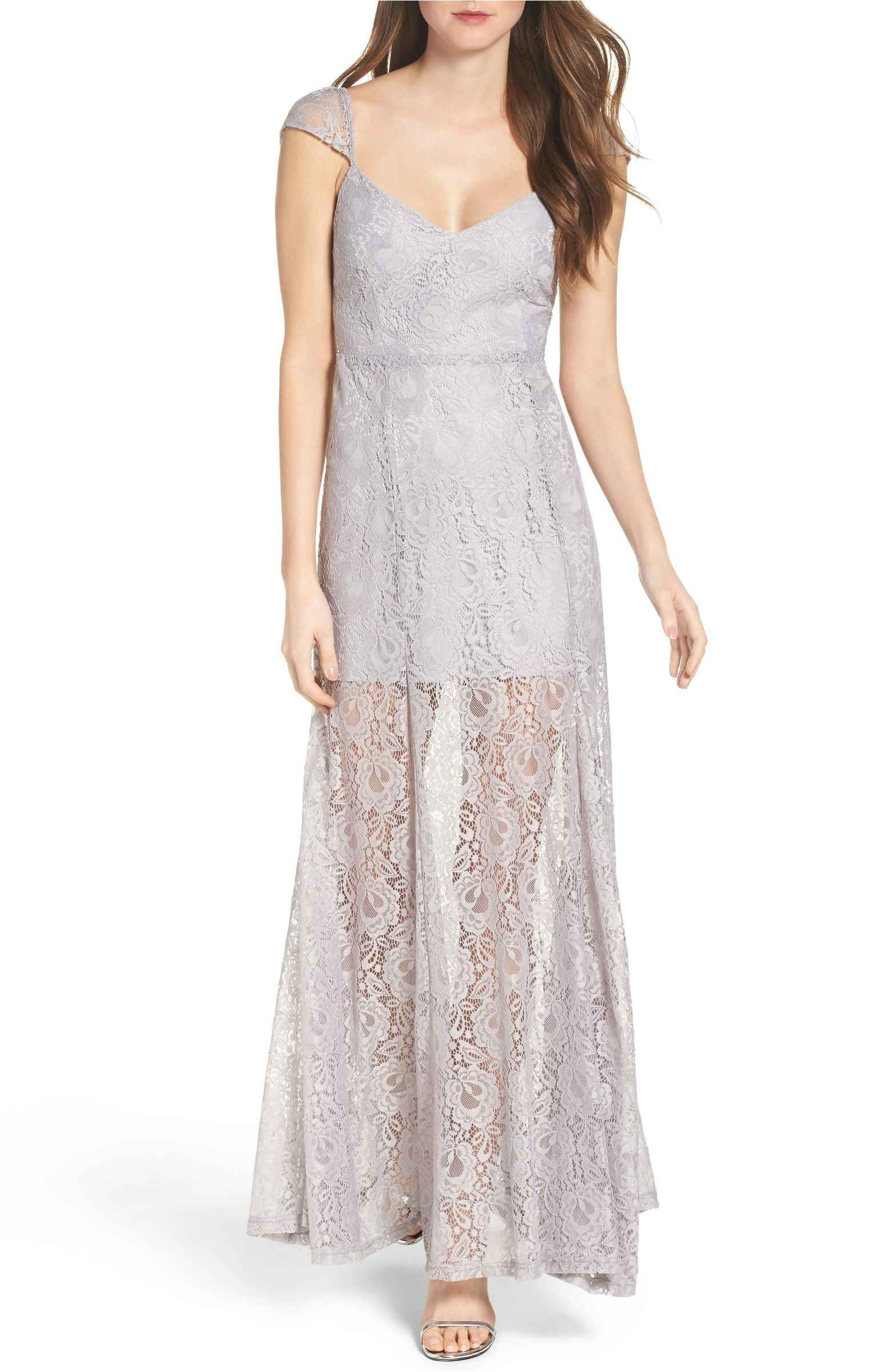 Main image lulus lace illusion skirt gown duds ium in love with