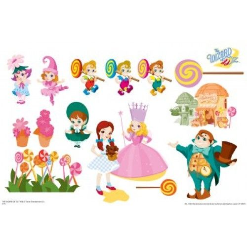 Delightful Munchkinland   Wizard Of Oz Kids Art Large Wall Jammer™ Wall Decal Part 28