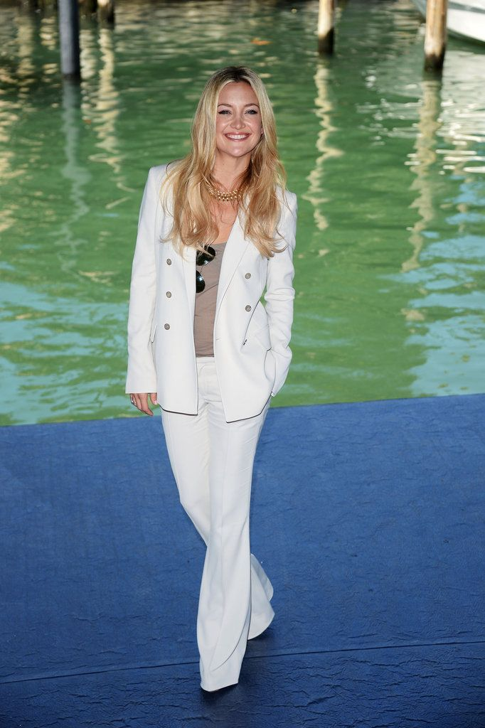 All the Pictures From the Venice Film Festival — So Far! #whitepantsuit