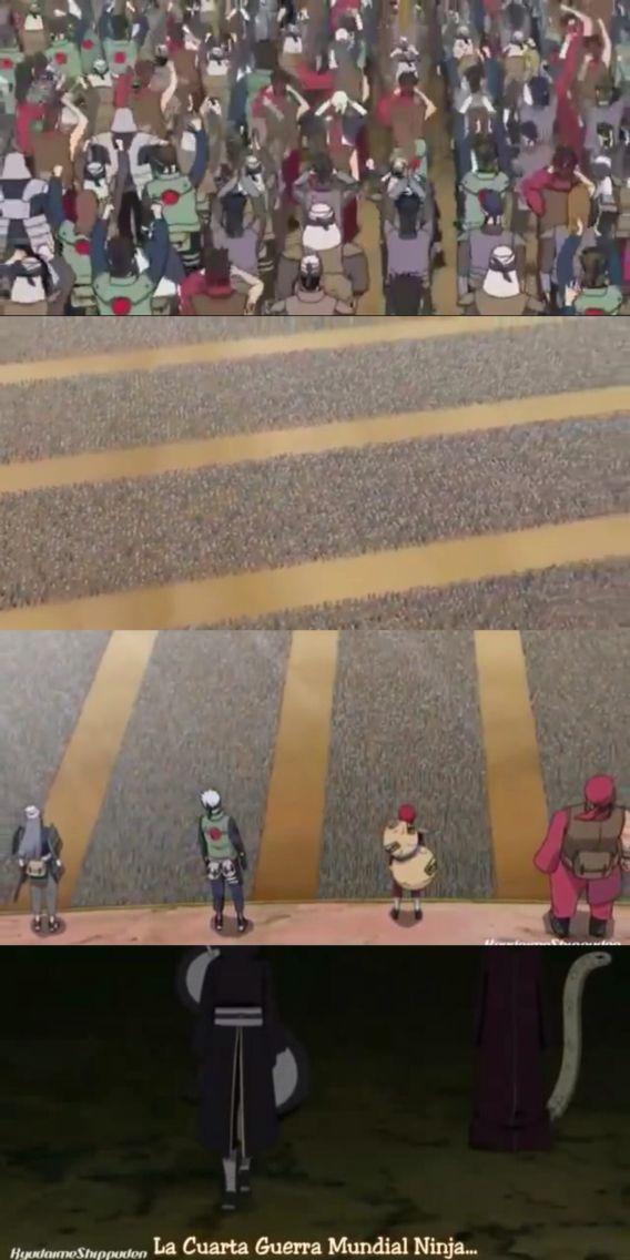 La cuarta guerra mundial ninja - Cap 256 | Naruto Capitulos ...