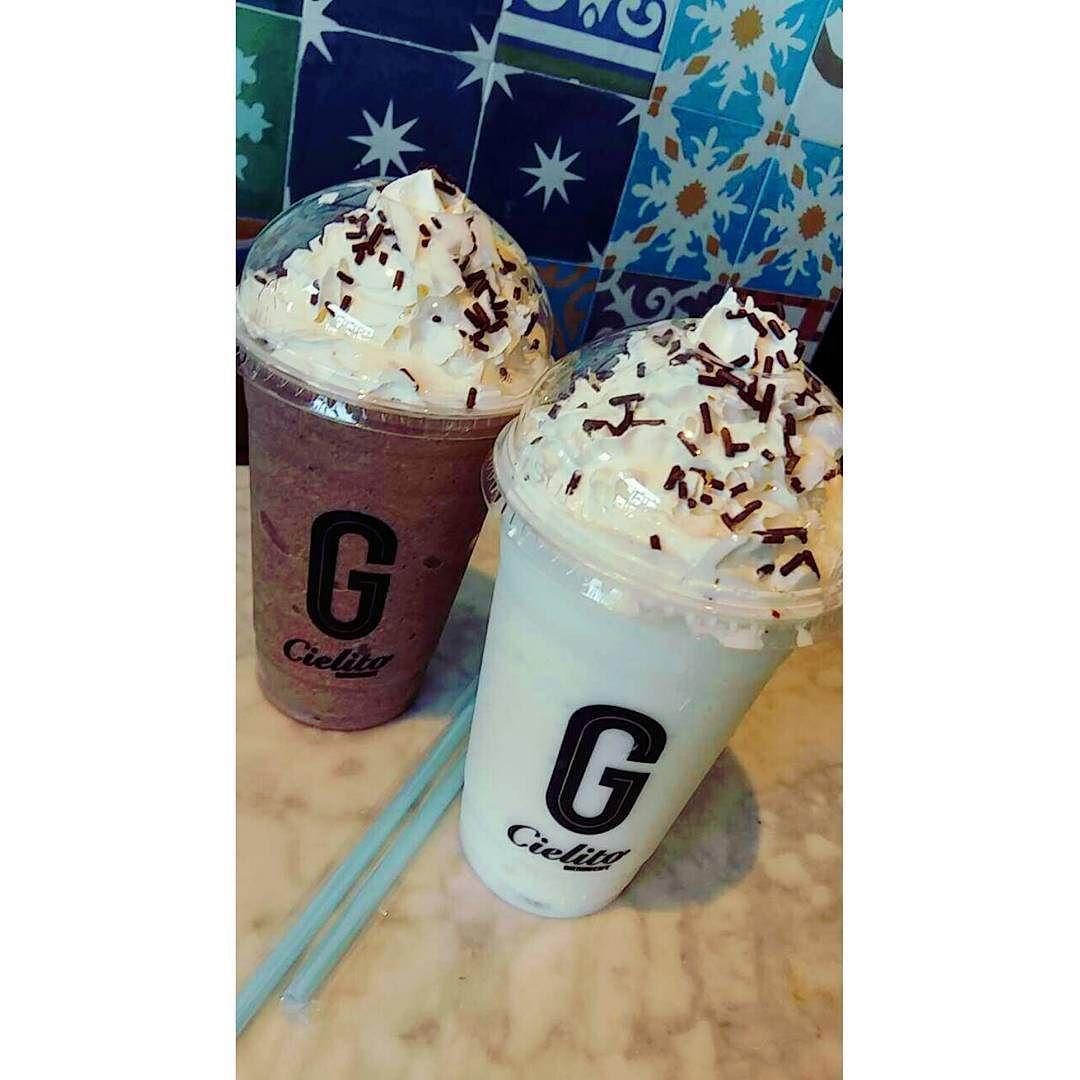 Sueño de una tarde de bebidas refrescantes de temporada of course @cielitoquerido #reto365fotos #100happydays #frappe #frappuccino #granizado #cold #refresh #coco #amaranto #chocolate
