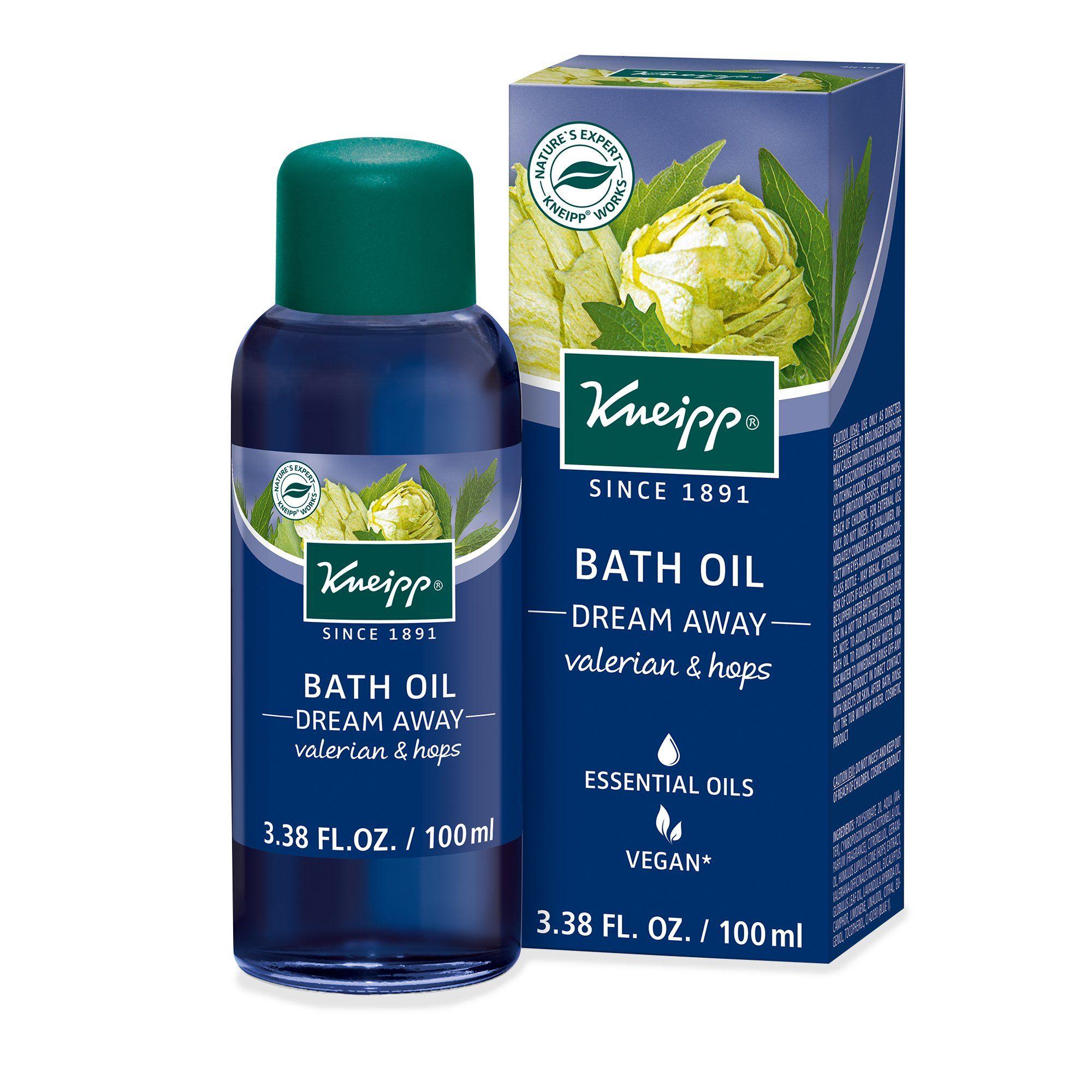 Kneipp Dream Away Bath Oil In 2020 Herbal Bath Herbalism Bath Oils