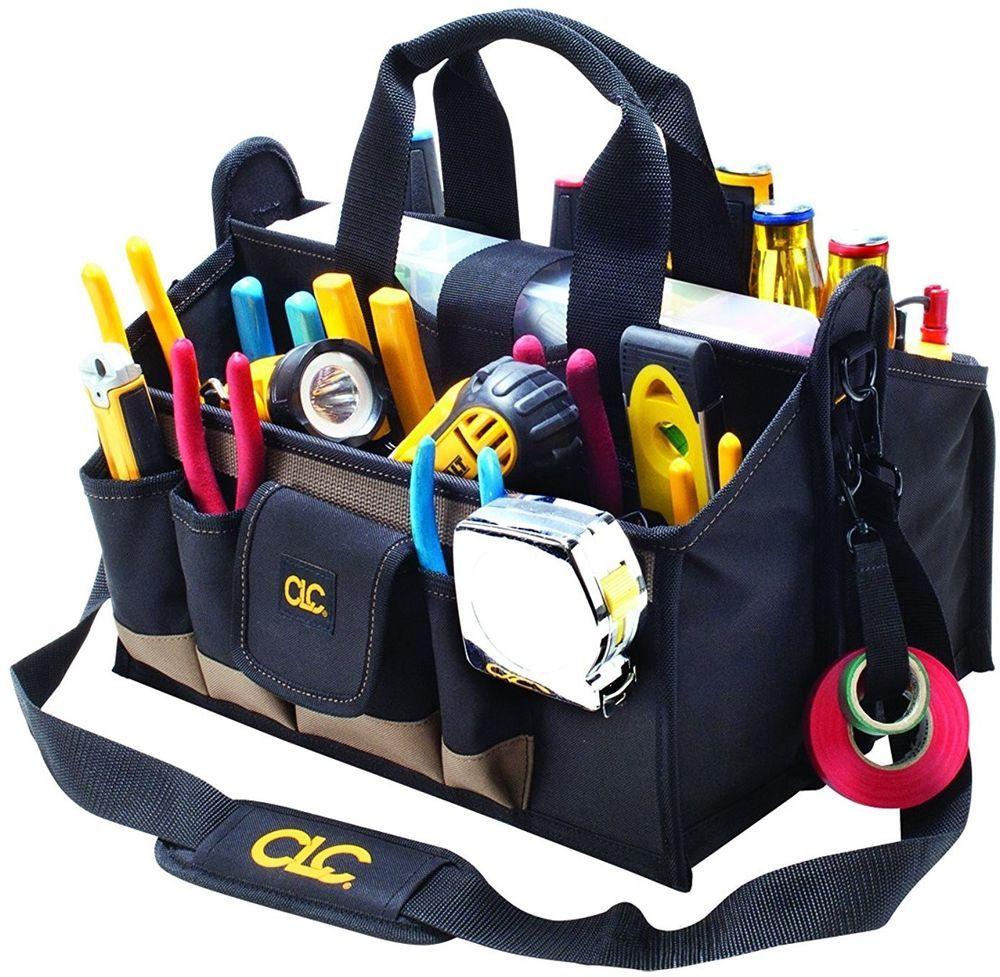 Handyman Tool Bag 15 Pockets Compartments Center Tray Portable Storage Organizer Best Tool Bag Tool Bag Bags