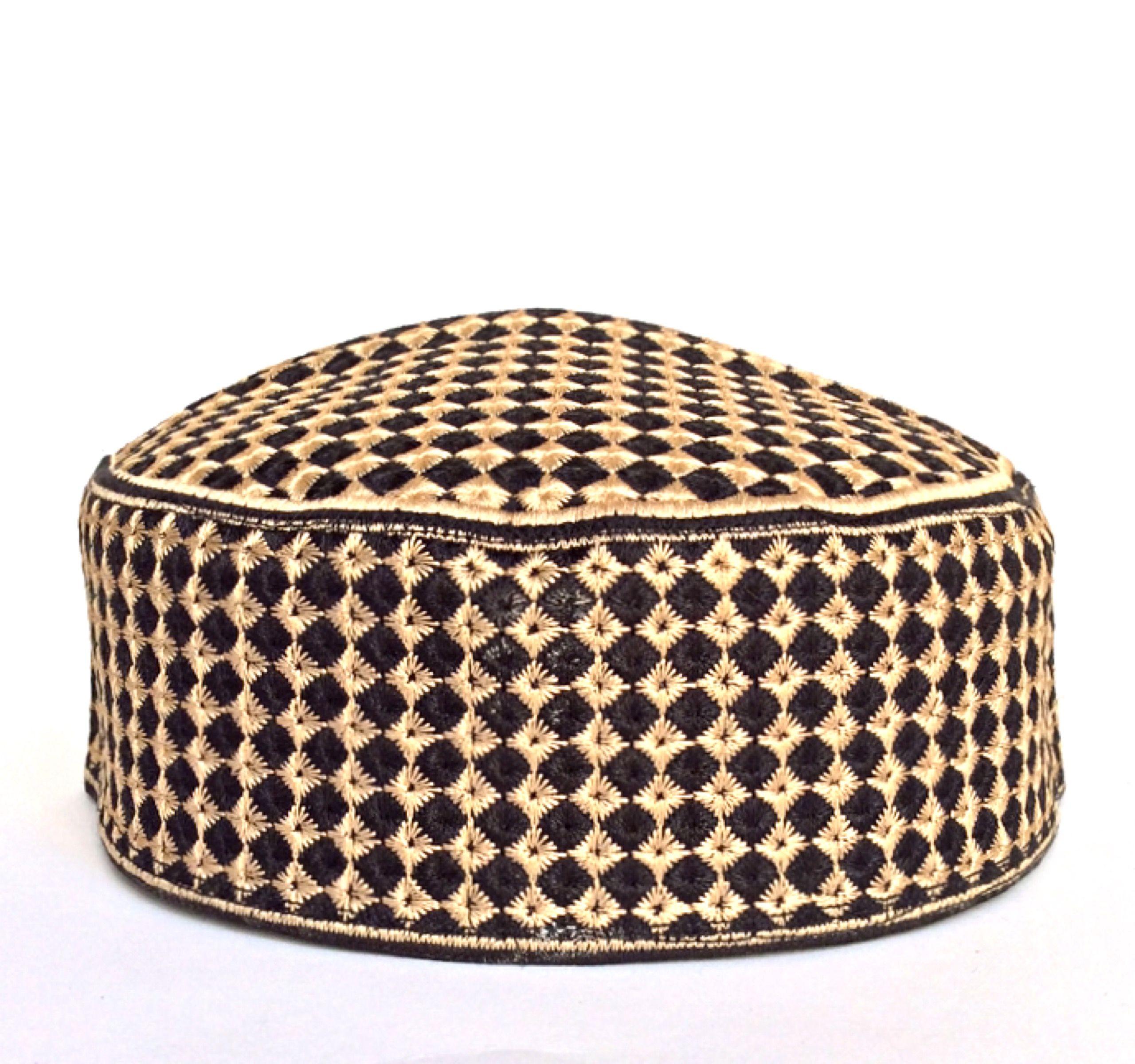Pin On Ramdan Designer Skull Koofi Caps