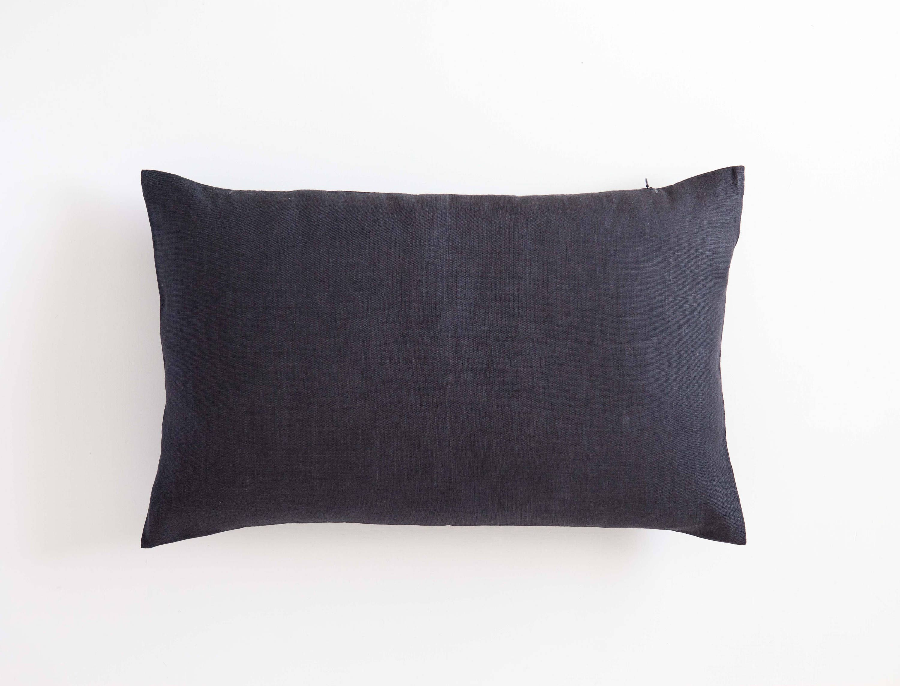 x blue pillow front dot gray nv blu lumbar navy