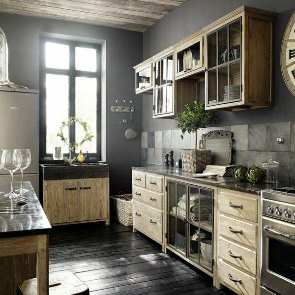 kreative wohnideen country style k c bcche mit zusätzlichen atemberaubend inspiration fliesen on outdoor kitchen ytong id=38878
