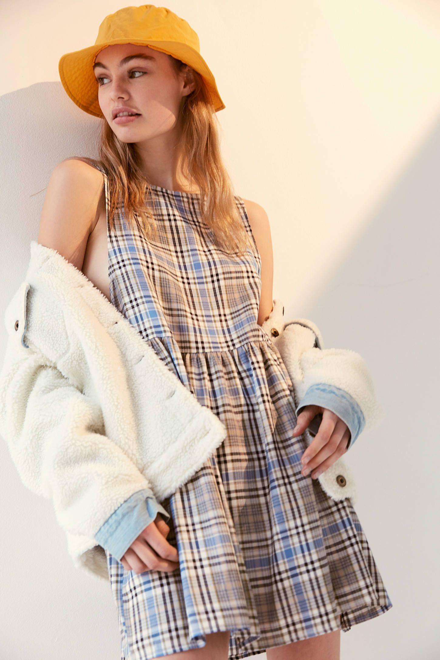 a7eda5eb67991 Urban Renewal Remnants Plaid Babydoll Dress in 2019 | misc || 2019 ...