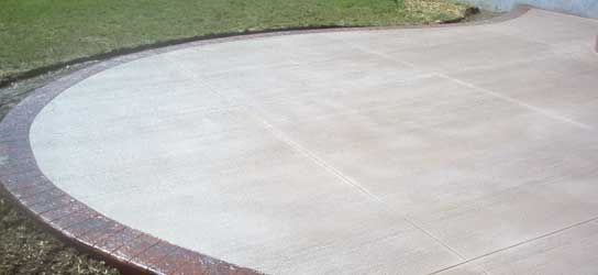 Broom Finish Concrete Patios Sidewalks Driveways